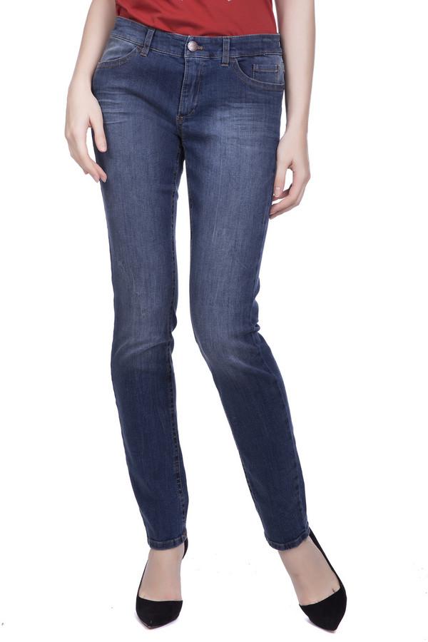 женские джинсы marc cain, синие