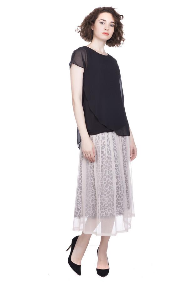 женская юбка marc cain, черная
