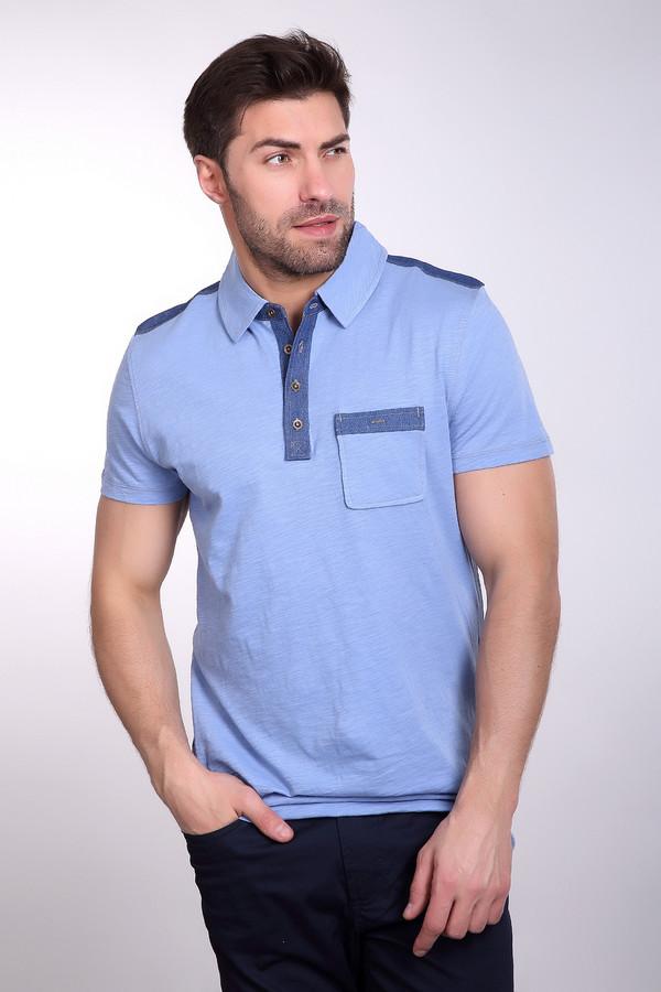 Поло PezzoПоло<br>Поло Pezzo мужское светло-голубого оттенка. Красивая вещь, которая понравится любому мужчине. Поло в комбинации светло-голубого цвета и денима смотрится очень стильно. В нём нет лишних деталей, всё продумано до мелочей, поэтому в таком поло мужчина выглядит модно и современно. Натуральный состав ткани – ещё одно достоинство этой вещи. Поло прекрасно смотрится с джинсами и брюками в классическом стиле. Состав: 100% хлопок.<br><br>Размер RU: 56<br>Пол: Мужской<br>Возраст: Взрослый<br>Материал: хлопок 100%<br>Цвет: Синий