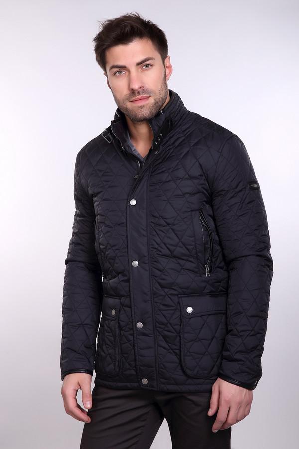 Куртка PezzoКуртки<br>Куртка Pezzo мужская черного оттенка. Стильная куртка для современных мужчин, которые любят модно и красиво одеваться. Модель прямого кроя, простеганная аккуратными ромбиками, с воротником стойкой, накладными карманами с заклёпками, двойной застёжкой (молнией и заклёпками) смотрится очень эффектно. Демисезонная вещь. Состав: нейлон, подкладка и наполнитель – полиэстер.<br><br>Размер RU: 54<br>Пол: Мужской<br>Возраст: Взрослый<br>Материал: нейлон 100%, Состав_подкладка полиэстер 100%, Состав_наполнитель полиэстер 100%<br>Цвет: Чёрный