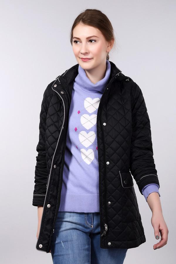 Куртка PezzoКуртки<br><br><br>Размер RU: 46<br>Пол: Женский<br>Возраст: Взрослый<br>Материал: нейлон 100%, Состав_подкладка полиэстер 100%, Состав_наполнитель полиэстер 100%<br>Цвет: Чёрный