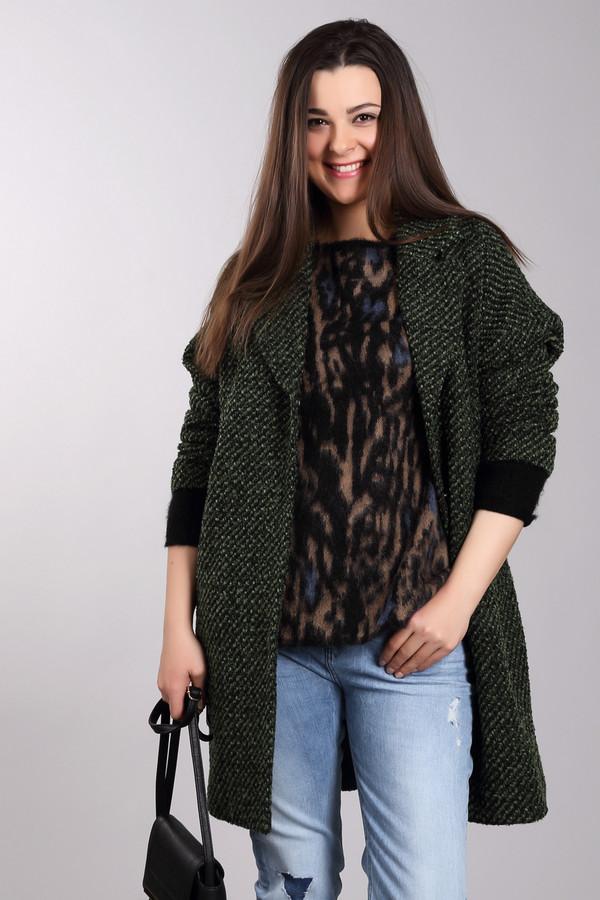 Пальто PezzoПальто<br>Пальто Pezzo женское зелёно-черное. Укороченное пальто прямого силуэта с отложным воротником и прорезными карманами – это то, что вам нужно. Отличная вещь для современной женщины. Такое пальто выручит вас в любую погоду и в любой жизненной ситуации. Оно прекрасно подходит и для работы, и для прогулок на природе. Лёгкое, тёплое пальто подарит вам комфорт и уют. Состав: полиэстер, шерсть, подкладка – 100% полиэстер.<br><br>Размер RU: 52<br>Пол: Женский<br>Возраст: Взрослый<br>Материал: шерсть 30%, полиэстер 70%, Состав_подкладка полиэстер 100%<br>Цвет: Чёрный