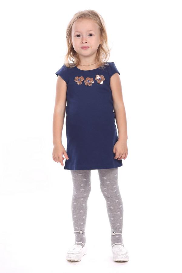 Платье Tom TailorПлатья<br><br><br>Размер RU: 30;116-122<br>Пол: Женский<br>Возраст: Детский<br>Материал: эластан 3%, хлопок 97%<br>Цвет: Синий
