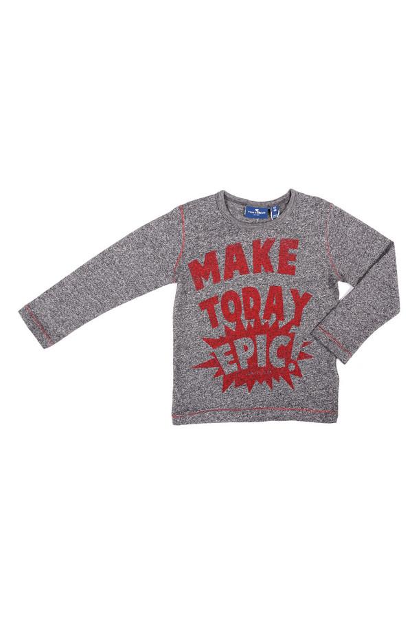 поло tom tailor для мальчика, красное