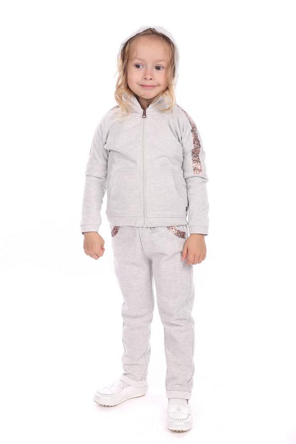 джемпер tom tailor для девочки, серый