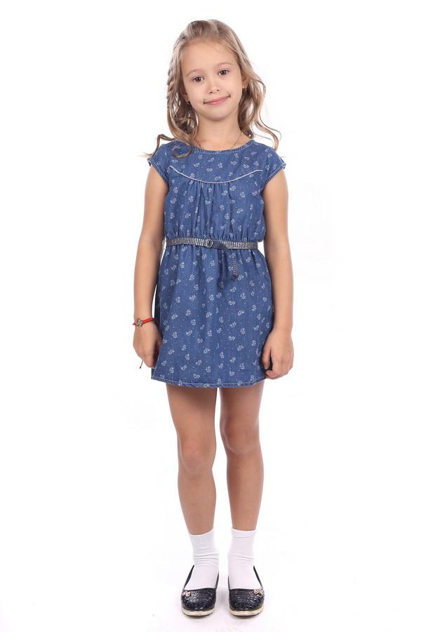 Платье s.OliverПлатья<br><br><br>Размер RU: 30;122<br>Пол: Женский<br>Возраст: Детский<br>Материал: хлопок 100%<br>Цвет: Голубой