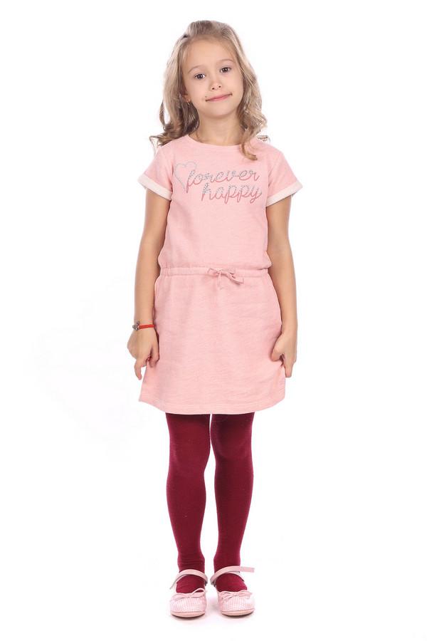 Платье s.OliverПлатья<br><br><br>Размер RU: 30;116<br>Пол: Женский<br>Возраст: Детский<br>Материал: хлопок 100%<br>Цвет: Розовый