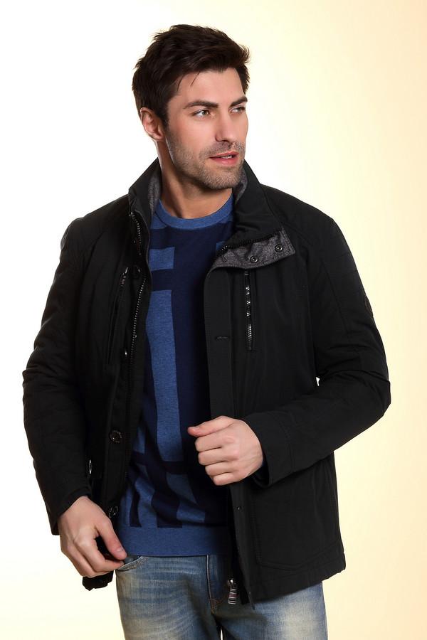Куртка CalamarКуртки<br>Мужская теплая куртка синего цвета для холодного периода. Застегивается на скрытую молнию, сверху планка с пуговицами, воротник-стойка застёгивается под горло на две кнопки. Куртка функциональная с двумя большими горизонтальными карманами, застегивающимися на пуговицу, и двумя вертикальными карманами в верхней части на молнии. На левом рукаве - круглый принт. Куртка качественная, отлично прострочена, согреет вас с любые холода!<br><br>Размер RU: 54<br>Пол: Мужской<br>Возраст: Взрослый<br>Материал: хлопок 57%, полиэстер 43%<br>Цвет: Синий