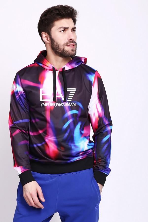 Купить Куртка EA7, Китай, Разноцветный, полиэстер 100%, Состав_подкладка полиэстер 100%, Состав_2 полиэстер 95%, Состав_2 эластан 5%
