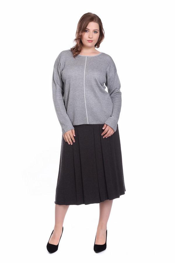 Пуловер Gerry WeberПуловеры<br><br><br>Размер RU: 50<br>Пол: Женский<br>Возраст: Взрослый<br>Материал: эластан 5%, хлопок 46%, полиамид 12%, вискоза 37%<br>Цвет: Серый