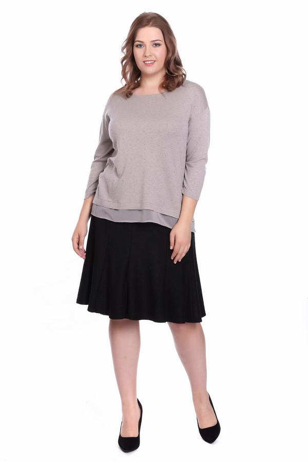 Пуловер Gerry WeberПуловеры<br><br><br>Размер RU: 46<br>Пол: Женский<br>Возраст: Взрослый<br>Материал: вискоза 20%, полиамид 20%, хлопок 60%<br>Цвет: Бежевый