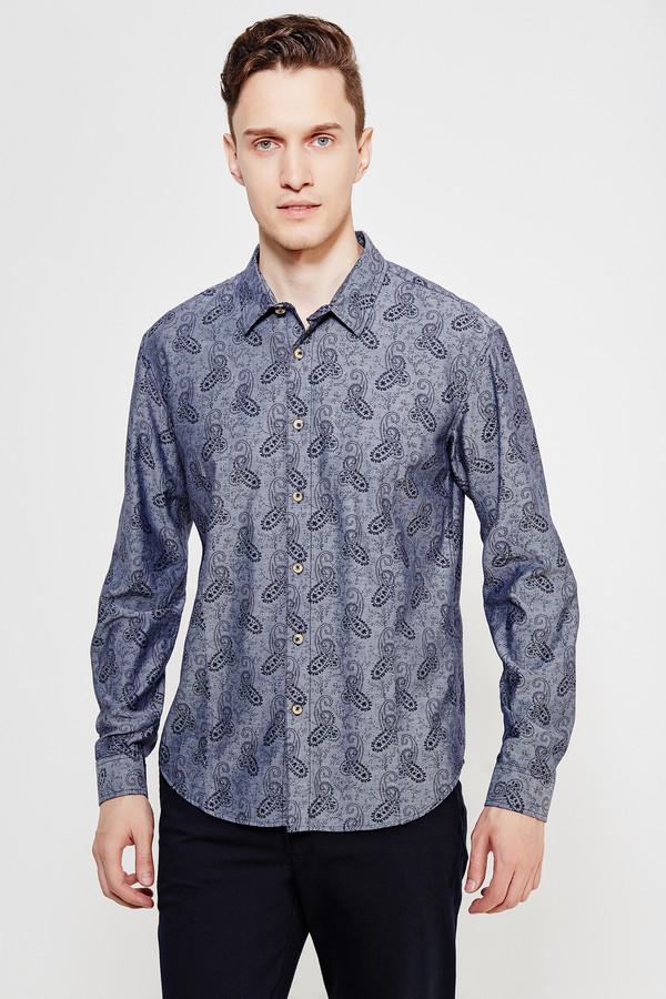 Рубашка с длинным рукавом FINN FLAREДлинный рукав<br><br><br>Размер RU: 46<br>Пол: Мужской<br>Возраст: Взрослый<br>Материал: хлопок 100%<br>Цвет: Чёрный