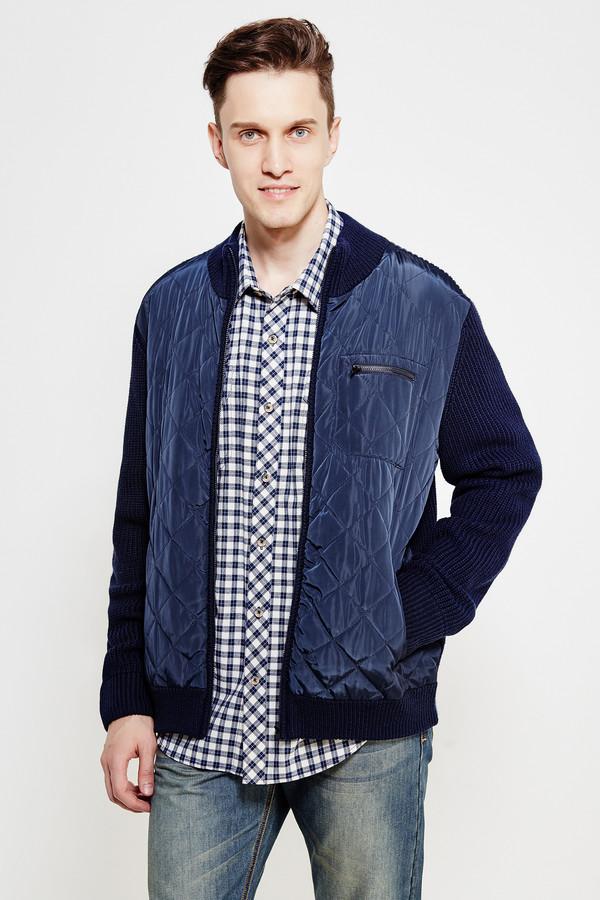 Куртка FINN FLAREКуртки<br><br><br>Размер RU: 50<br>Пол: Мужской<br>Возраст: Взрослый<br>Материал: полиэстер 20%, акрил 55%, нейлон 20%, шерсть 5%, Состав_отделка полиэстер 100%<br>Цвет: Синий
