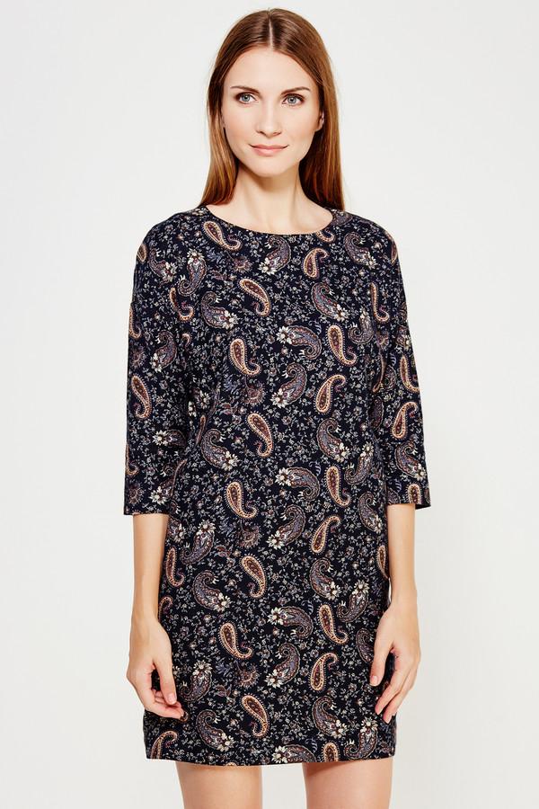 Платье FINN FLAREПлатья<br><br><br>Размер RU: 42<br>Пол: Женский<br>Возраст: Взрослый<br>Материал: хлопок 100%<br>Цвет: Коричневый