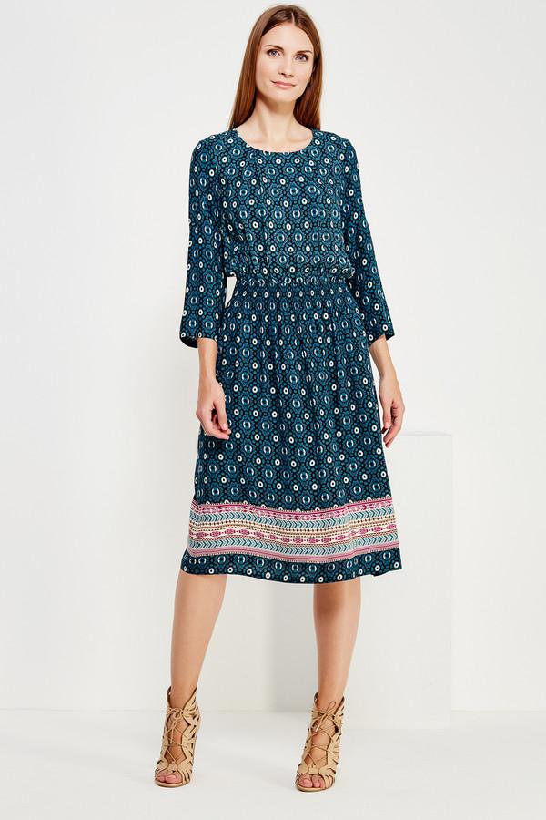Длинное платье FINN FLAREДлинные платья<br><br><br>Размер RU: 44<br>Пол: Женский<br>Возраст: Взрослый<br>Материал: вискоза 100%<br>Цвет: Зелёный