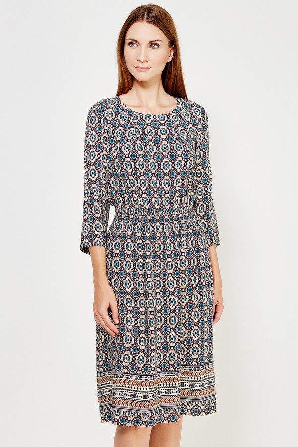 Длинное платье FINN FLAREДлинные платья<br><br><br>Размер RU: 44<br>Пол: Женский<br>Возраст: Взрослый<br>Материал: вискоза 100%<br>Цвет: Разноцветный