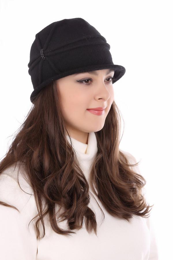 Шляпа WegenerШляпы<br><br><br>Размер RU: 57<br>Пол: Женский<br>Возраст: Взрослый<br>Материал: шерсть 100%<br>Цвет: Чёрный