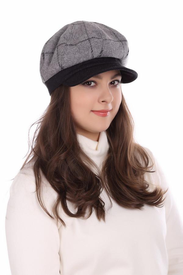 женская кепка wegener, черная