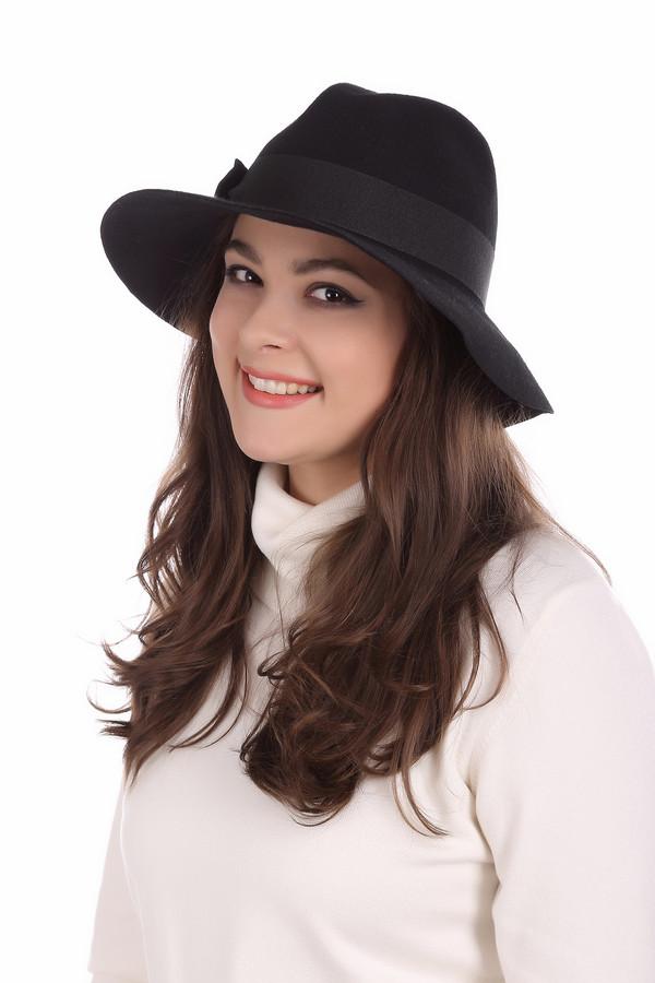 Шляпа WegenerШляпы<br><br><br>Размер RU: один размер<br>Пол: Женский<br>Возраст: Взрослый<br>Материал: шерсть 100%<br>Цвет: Чёрный