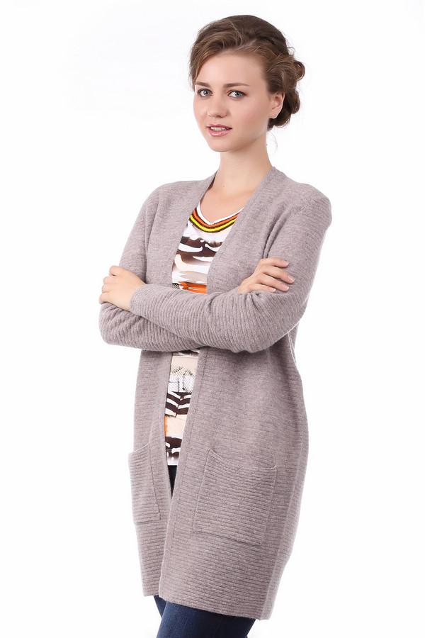 женский жакет comma, серый