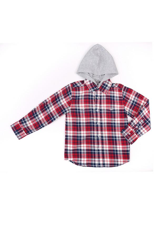 Рубашка SarabandaРубашки<br><br><br>Размер RU: 26;98<br>Пол: Мужской<br>Возраст: Детский<br>Материал: хлопок 100%<br>Цвет: Разноцветный