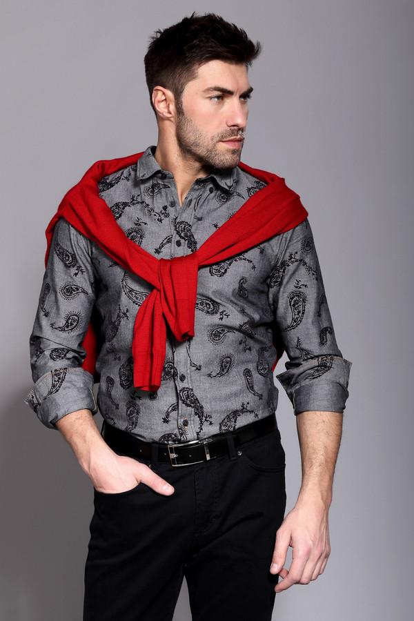 Рубашка Boss OrangeРубашки и сорочки<br><br><br>Размер RU: 48<br>Пол: Мужской<br>Возраст: Взрослый<br>Материал: см. на вшивном ярлыке 0%<br>Цвет: Чёрный
