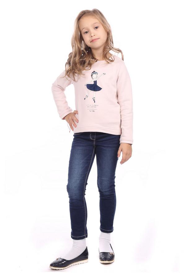 джемпер tom tailor для девочки, розовый