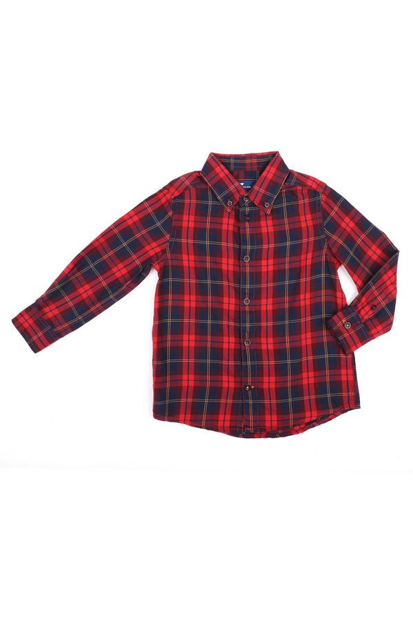 Рубашка Tom TailorРубашки<br><br><br>Размер RU: 32-34;128-134<br>Пол: Мужской<br>Возраст: Детский<br>Материал: хлопок 100%<br>Цвет: Разноцветный
