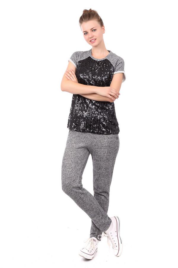 женские спортивные брюки gaudi jeans, черные