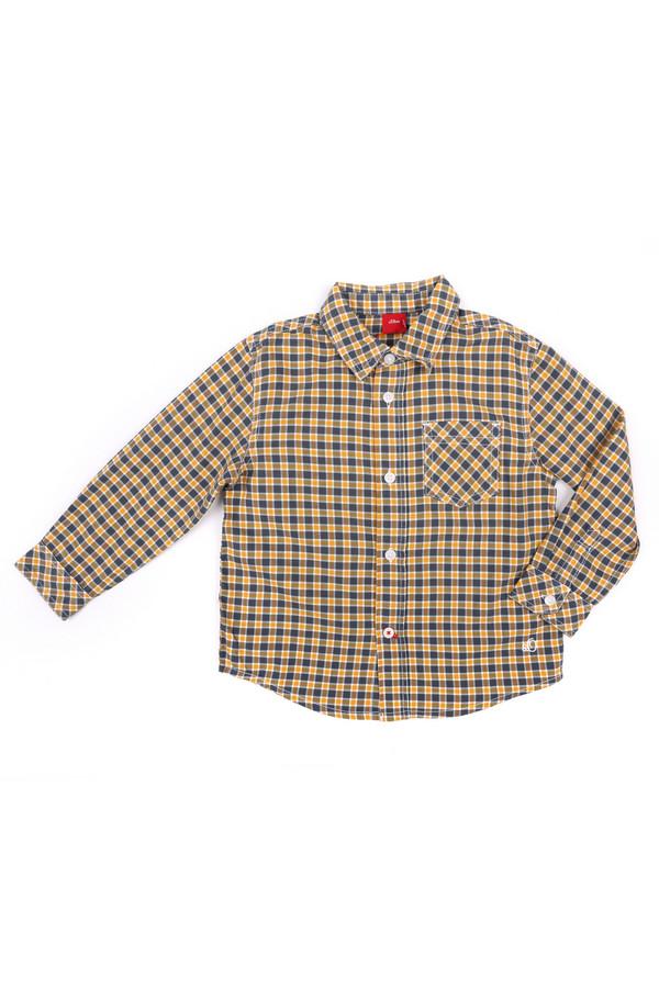 Рубашка s.OliverРубашки<br><br><br>Размер RU: 26;92-98<br>Пол: Мужской<br>Возраст: Детский<br>Материал: хлопок 100%<br>Цвет: Разноцветный