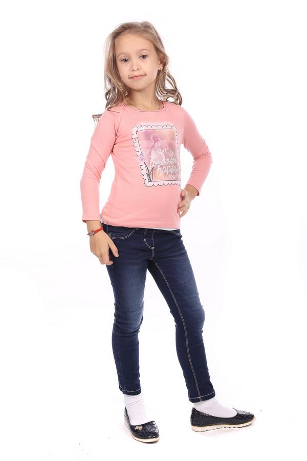 Футболки и поло s.OliverФутболки и поло<br><br><br>Размер RU: 30;116-122<br>Пол: Женский<br>Возраст: Детский<br>Материал: хлопок 100%<br>Цвет: Розовый