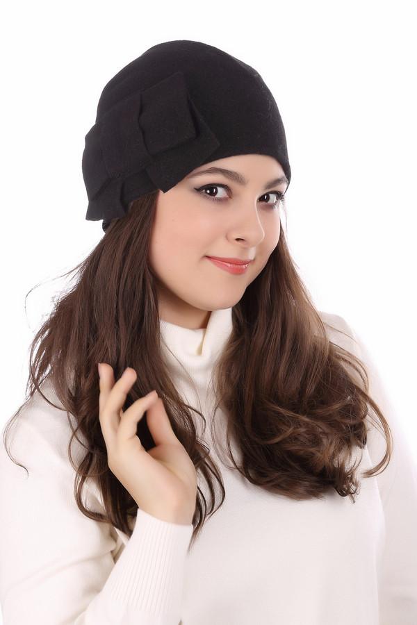 Шляпа SeebergerШляпы<br><br><br>Размер RU: один размер<br>Пол: Женский<br>Возраст: Взрослый<br>Материал: шерсть 100%<br>Цвет: Чёрный