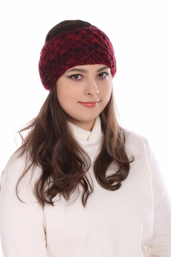 женская шапка seeberger, бордовая