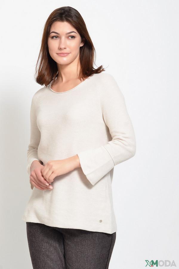 женский пуловер monari, бежевый