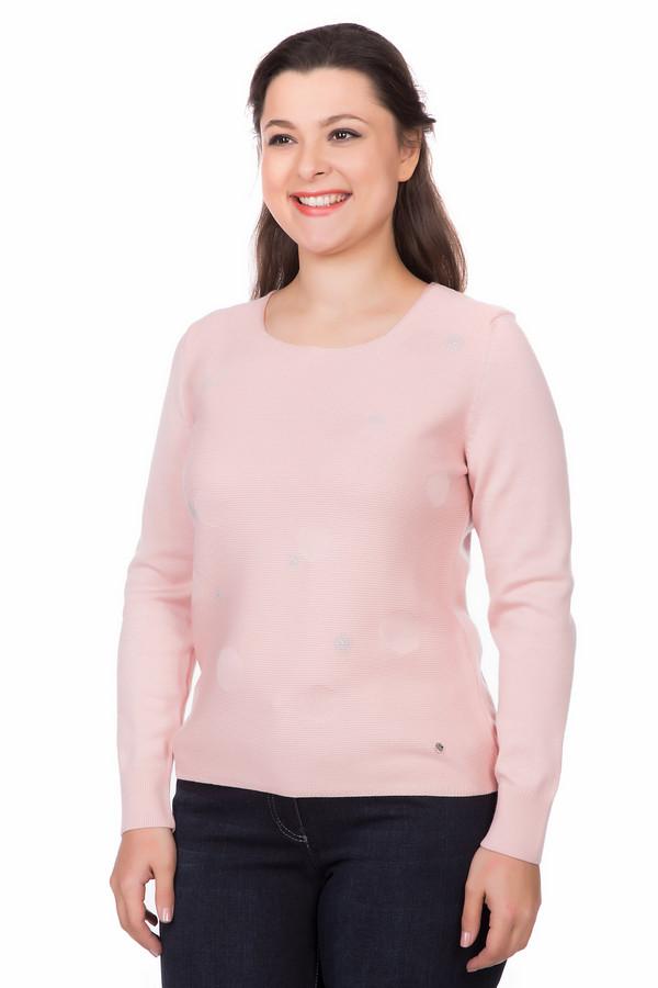 женский пуловер rabe collection, розовый