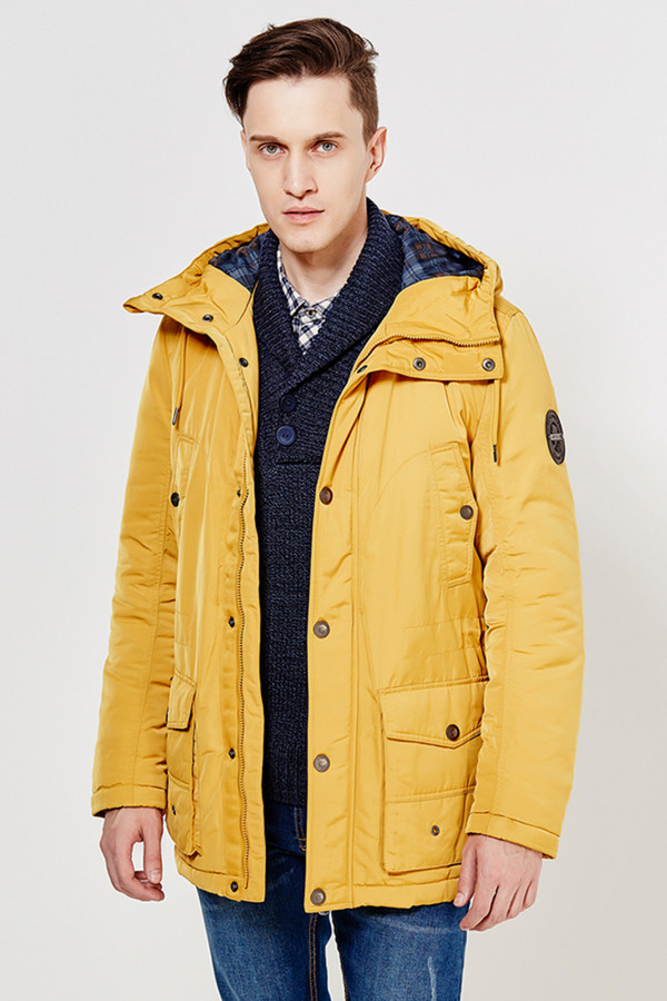 Куртка FINN FLAREКуртки<br><br><br>Размер RU: 54<br>Пол: Мужской<br>Возраст: Взрослый<br>Материал: полиэстер 100%<br>Цвет: Жёлтый