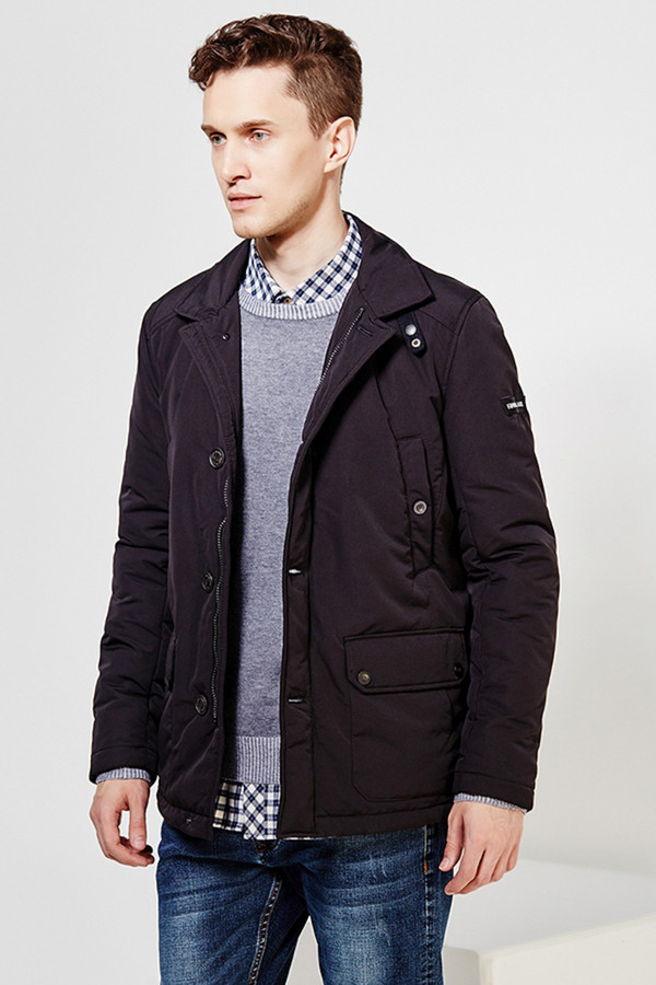 Куртка FINN FLAREКуртки<br><br><br>Размер RU: 48<br>Пол: Мужской<br>Возраст: Взрослый<br>Материал: полиэстер 100%<br>Цвет: Чёрный