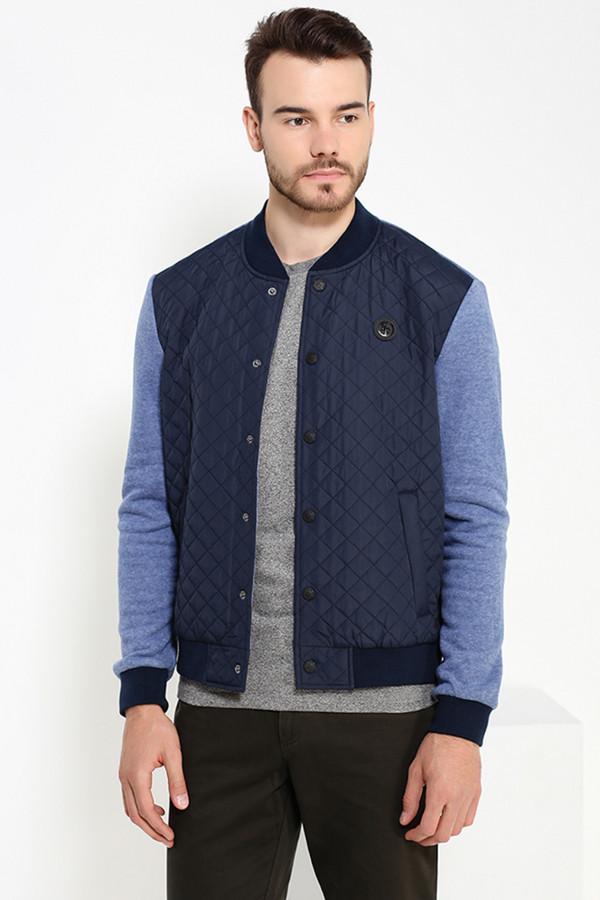 Куртка FINN FLAREКуртки<br><br><br>Размер RU: 50<br>Пол: Мужской<br>Возраст: Взрослый<br>Материал: хлопок 60%, полиэстер 40%, ВЕРХ 0%<br>Цвет: Синий