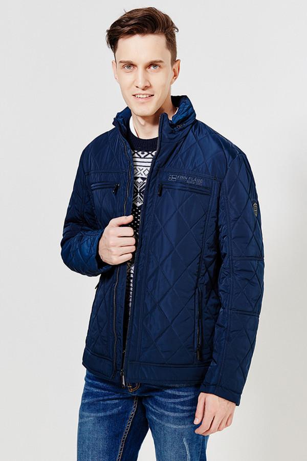 Куртка FINN FLAREКуртки<br><br><br>Размер RU: 50<br>Пол: Мужской<br>Возраст: Взрослый<br>Материал: полиэстер 100%<br>Цвет: Синий