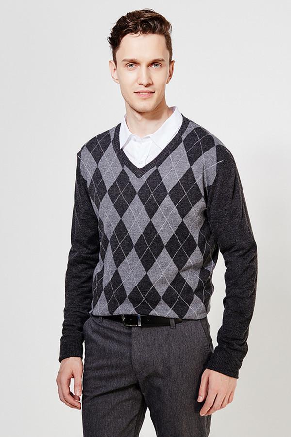 Джемпер FINN FLAREДжемперы и Пуловеры<br><br><br>Размер RU: 54<br>Пол: Мужской<br>Возраст: Взрослый<br>Материал: нейлон 35%, вискоза 30%, шерсть 10%, акрил 20%, кашемир 5%<br>Цвет: Серый