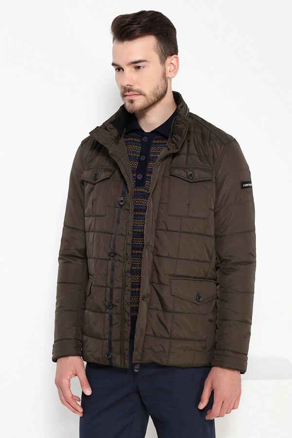 Куртка FINN FLAREКуртки<br><br><br>Размер RU: 50<br>Пол: Мужской<br>Возраст: Взрослый<br>Материал: полиэстер 100%<br>Цвет: Коричневый