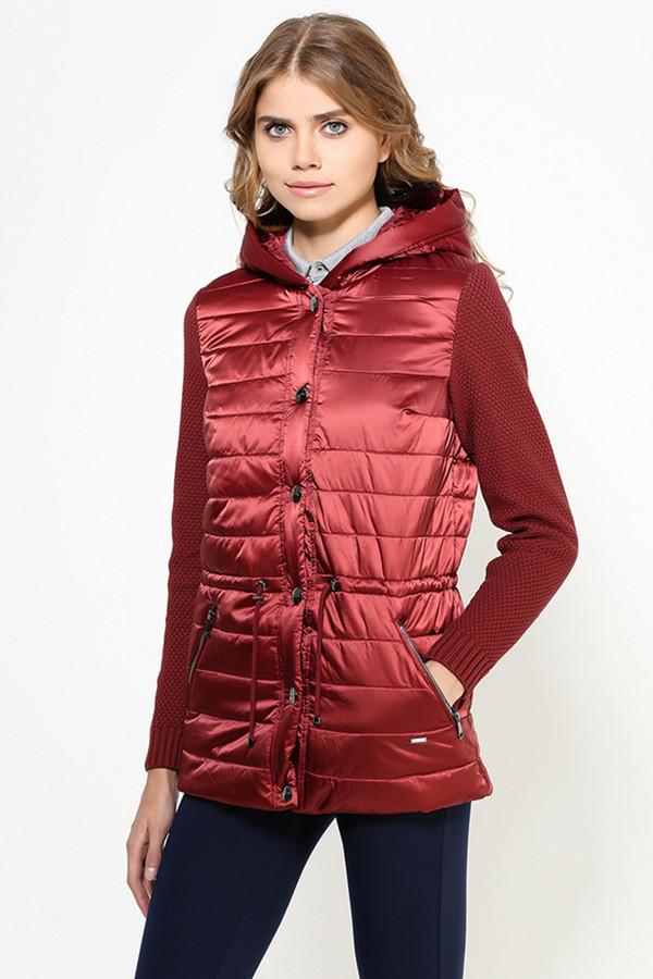 Куртка FINN FLAREКуртки<br><br><br>Размер RU: 52<br>Пол: Женский<br>Возраст: Взрослый<br>Материал: ПОДКЛАДКА 0%, ВЕРХ 0%<br>Цвет: Бордовый
