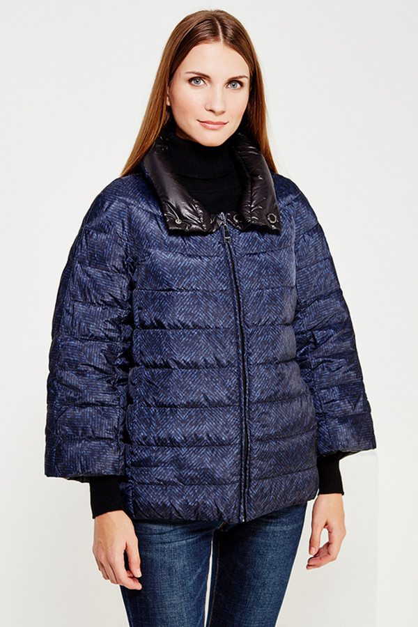 Куртка FINN FLAREКуртки<br><br><br>Размер RU: 48<br>Пол: Женский<br>Возраст: Взрослый<br>Материал: полиэстер 100%, пух 100%<br>Цвет: Синий