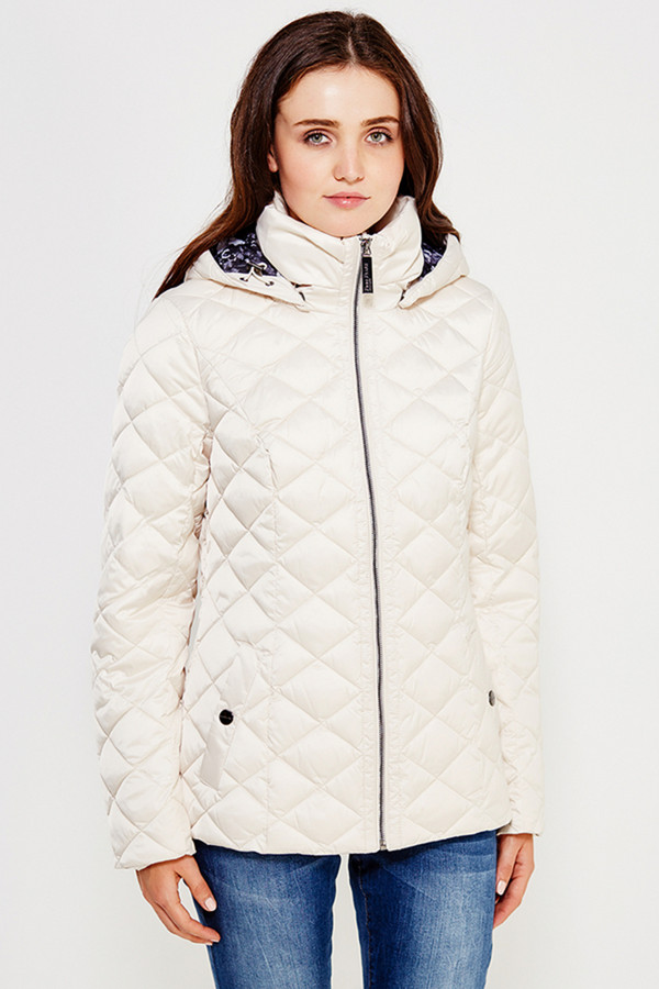 Куртка FINN FLAREКуртки<br><br><br>Размер RU: 42<br>Пол: Женский<br>Возраст: Взрослый<br>Материал: полиэстер 100%<br>Цвет: Белый