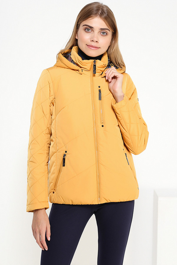 Куртка FINN FLAREКуртки<br><br><br>Размер RU: 48<br>Пол: Женский<br>Возраст: Взрослый<br>Материал: полиэстер 100%<br>Цвет: Жёлтый