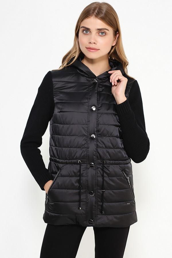 Куртка FINN FLAREКуртки<br><br><br>Размер RU: 50<br>Пол: Женский<br>Возраст: Взрослый<br>Материал: ПОДКЛАДКА 0%, ВЕРХ 0%<br>Цвет: Чёрный