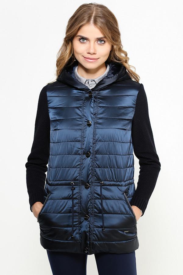 Куртка FINN FLAREКуртки<br><br><br>Размер RU: 44<br>Пол: Женский<br>Возраст: Взрослый<br>Материал: ПОДКЛАДКА 0%, ВЕРХ 0%<br>Цвет: Синий