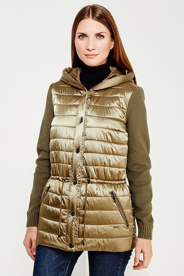 Куртка FINN FLAREКуртки<br><br><br>Размер RU: 52<br>Пол: Женский<br>Возраст: Взрослый<br>Материал: ПОДКЛАДКА 0%, ВЕРХ 0%<br>Цвет: Золотистый