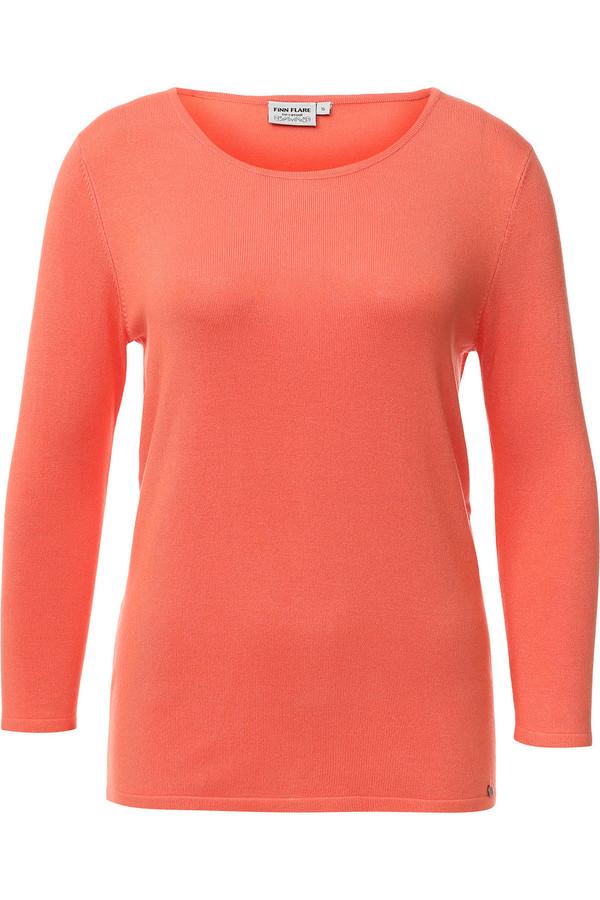 Джемпер FINN FLAREДжемперы<br><br><br>Размер RU: 48<br>Пол: Женский<br>Возраст: Взрослый<br>Материал: нейлон 20%, вискоза 80%<br>Цвет: Оранжевый