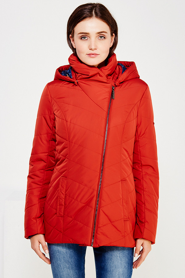 Куртка FINN FLAREКуртки<br><br><br>Размер RU: 48<br>Пол: Женский<br>Возраст: Взрослый<br>Материал: полиэстер 100%<br>Цвет: Красный